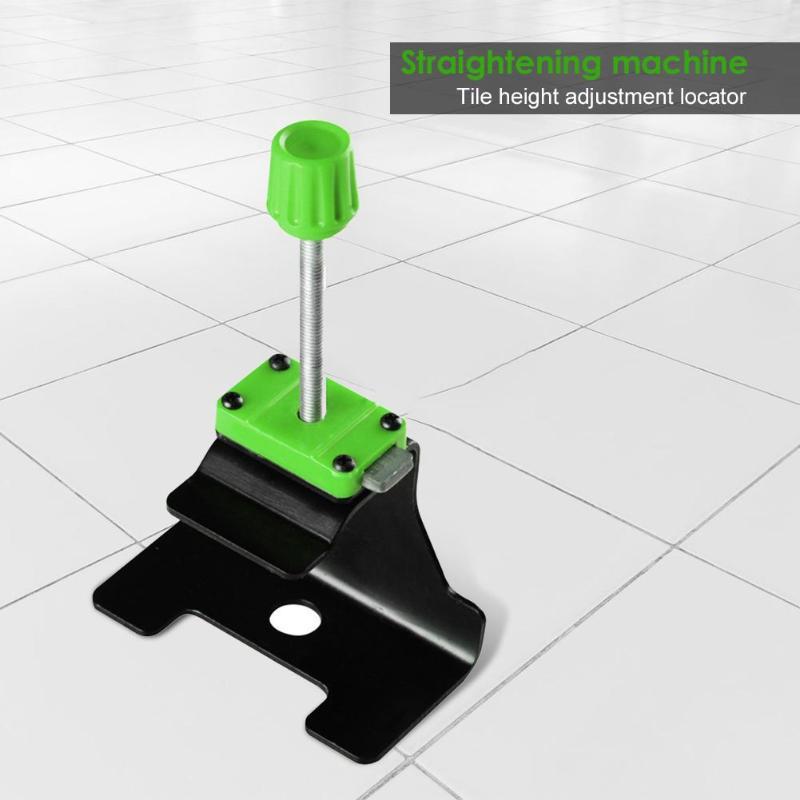 XIAN 10pcs Manual Tile Locator Wall Tiles Regulator Height Adjustment Positioner Leveler Ceramic Fine Thread Rising Construction Tool
