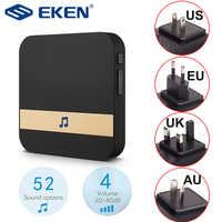 AC 110-220V Smart Innen Türklingel Drahtlose WiFi Tür Glocke US EU UK AU Stecker XSH app Für EKEN V5 V6 V7 M3