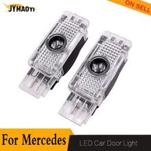 цена на 2 PCS For Mercedes Door Light led Projector welcome light lamp For Mercedes Benz W209 W203 W240 R171 Coupe CLK C SLK SLR Class