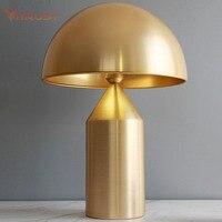 Nordic simple table lamp stainless steel desk lighting luxury reading table lamp hotel bedside soft sofa designer table lamp
