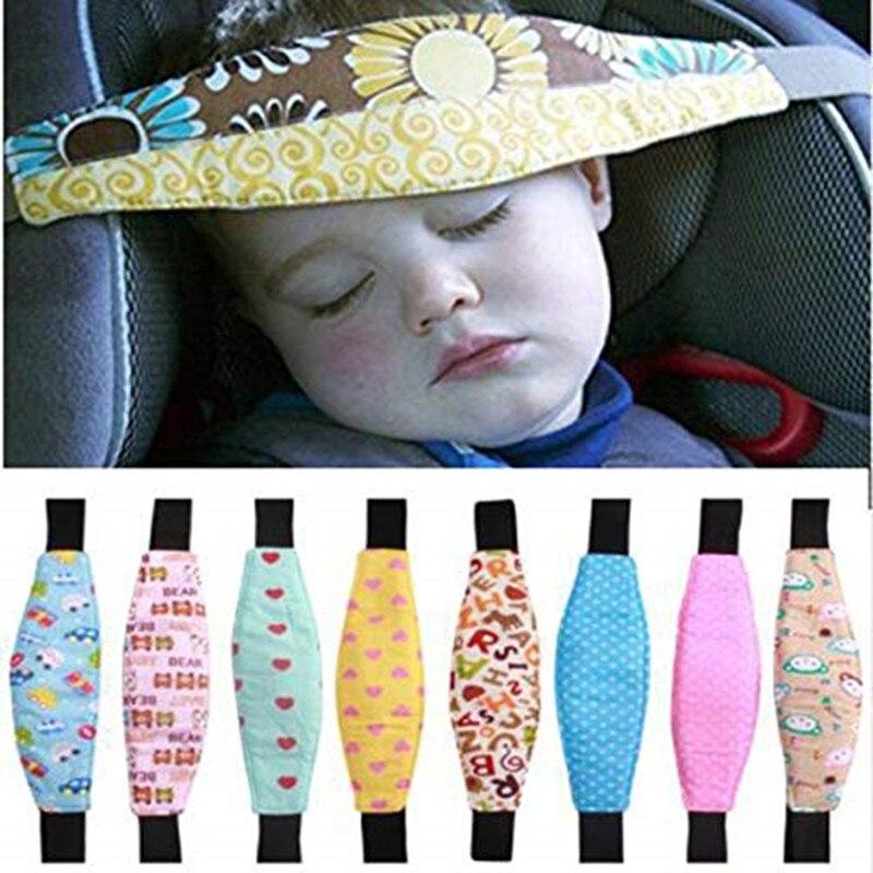 2019 Baby Saftey Pillows Infant Baby Car Seat Head Support Children Belt Fastening Belt Adjustable Playpens Sleep Positioner