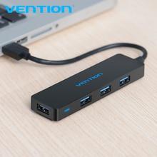 Vention 4 порта usb хаб USB 3,0 концентратор для принтера Mac ноутбук высокая скорость Мульти USB сплиттер USB Hab