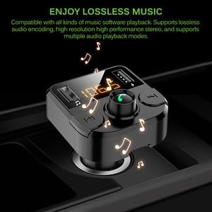 Image 5 - Onever samochodowy nadajnik Fm LCD odtwarzacz MP3 bezprzewodowy zestaw odbiorczy Bluetooth 3.1A szybki USB bezprzewodowy USB ładowarka Modulator FM