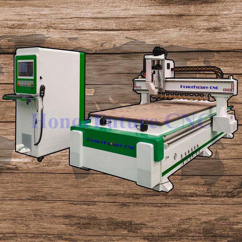 Milling Machine CNC China, CE 1325 ATC Cnc Router Machine For Engraving Cutting Wood Acrylic Stone