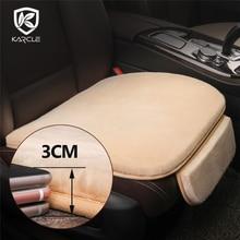 Karcle Plush Car Seat Cover Faux Fur Winter Warm Car Seat Cushion Auto Accessories Interior Non Slip Short Plush Chair Cushion