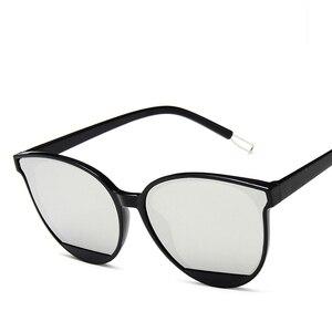 Новое поступление 2021 Модные солнцезащитные очки Женские винтажные металлические зеркальные классические Винтажные Солнцезащитные очки женские очки Водительские очки      АлиЭкспресс