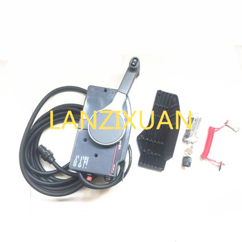 10 Pins, Remote Control Box 703-48207-1A-10 / 11 For Yamaha Outboard Motors Steering System 703-48205-16-00 Shifter, LEFT HAND