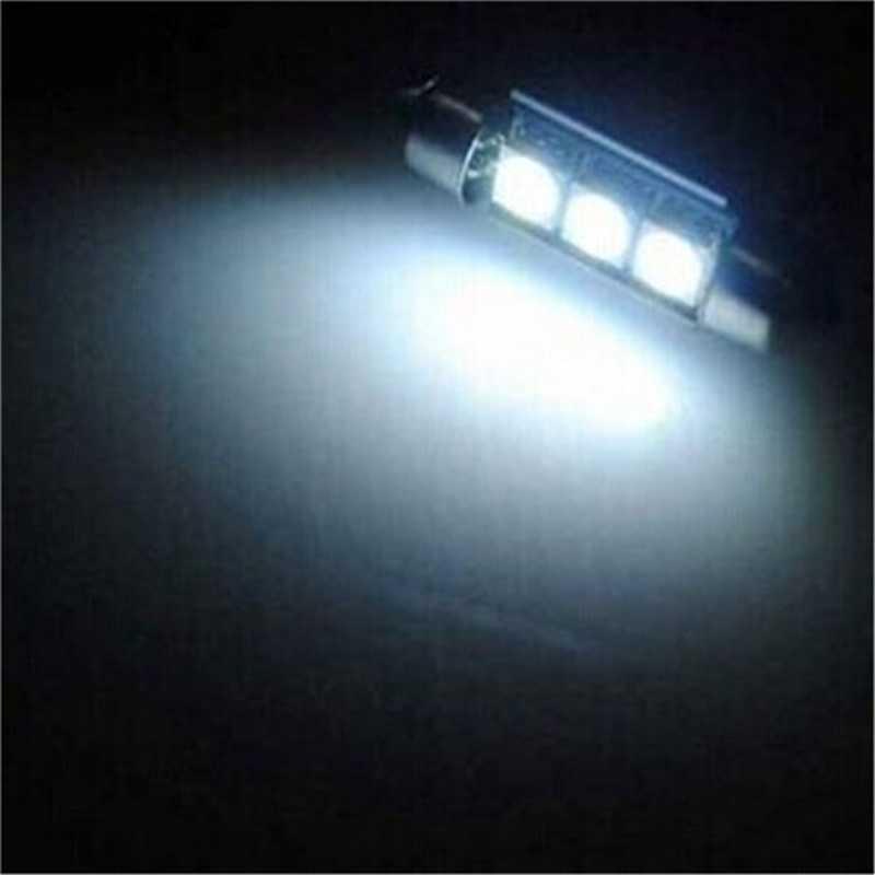 1 Pcs Super Bright Lampu 36 Mm 3 5050 SMD LED Memperhiasi Lampu CANBUS Kesalahan Gratis C5W Auto Lampu Lampu bohlam DC 12V Putih