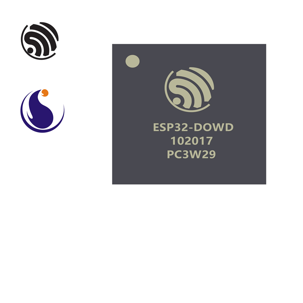 ESP32-D0WD Espressif Systems SoC 2.4 GHz Wi-Fi + Bluetooth Chip QFN 5 * 5 AIoT Smart Home Internet Of Things