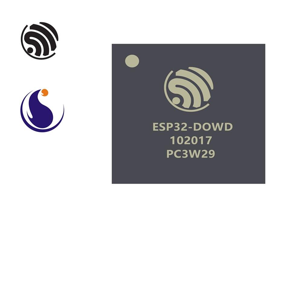 ESP32-D0WD Espressif Systems SoC 2.4 GHz Wi-Fi + Bluetooth Chip QFN 5 * 5 AIoT Smart Home Internet Of Things