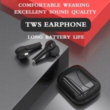 Contrôle tactile TWS fone Bluetooth écouteur sans fil casque mains libres écouteurs stéréo avec microphone pour téléphones ios android