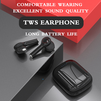 Touch Control TWS fone Bluetooth Earphone Wireless headphones handsfree Stereo Earbuds with microphone for ios android phones