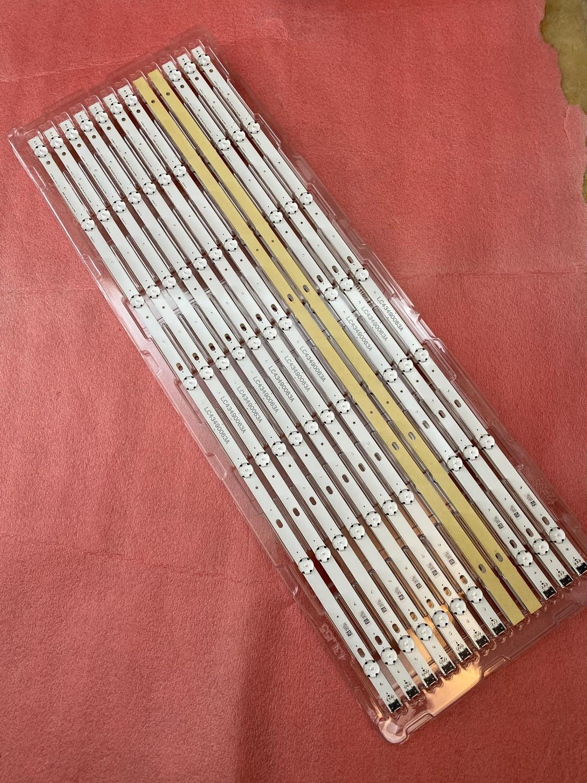 New 15pcs/lot 7LED LED Backlight Strip For LG 43UK6400 43uk6090 43UK6200 43UK6300 LC43490086A 3PCM00789A 303LG430003 LC43490089A