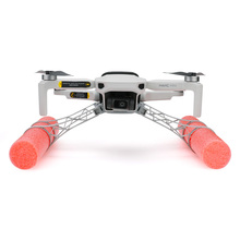 Barra de espuma para tren de aterrizaje, flotabilidad, absorción de impacto, pata elevada para dji mavic mini /mavic mini 2, accesorios para Dron