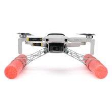 Tige en mousse train datterrissage flottabilité atterrissage par eau absorption des chocs augmente la jambe pour dji mavic mini /mavic mini 2 drone accessoires