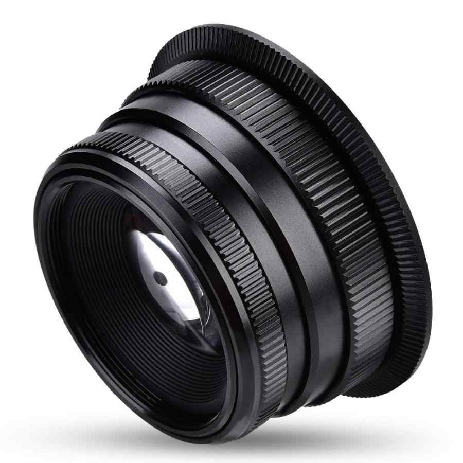 35 мм f1.6 ручная фокусировка объектива для Canon крепление для Fujifilm крепление для M4/3 крепление беззеркальных камер фото объектив аксессуары