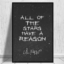 lil peep black and white print buy