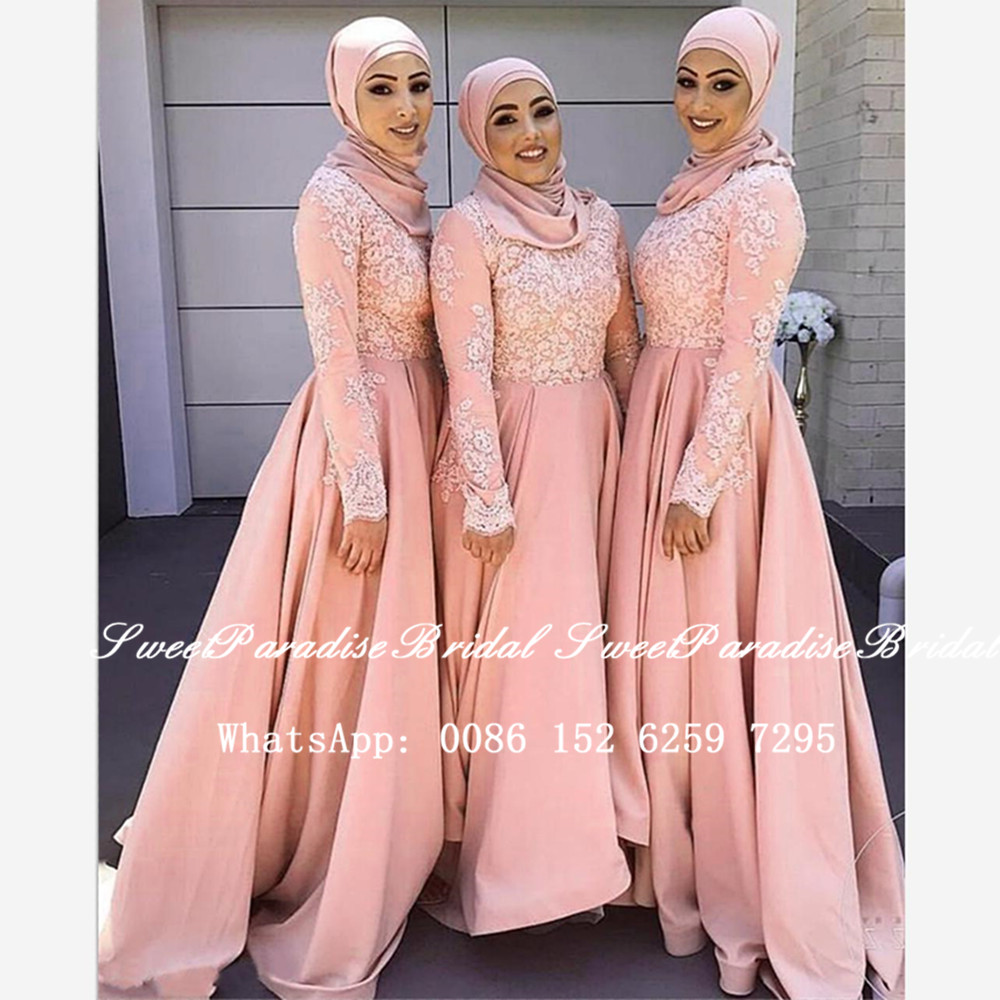 árabe dubai feminino uma linha vestido de festa de casamento