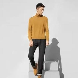 Image 5 - Xiaomi klasik siyah erkek kot pamuk Smith rahat ince düz kotlar streç kot pantolon bahar sonbahar erkek pantolon