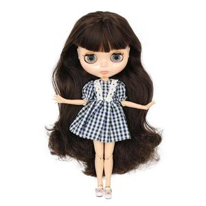 Image 4 - ICY factory Blyth doll Joint body with hands Glossy face with big breast different hair color Natural skin 30cm 1/6 toy gift