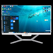 24 Polegada tela sensível ao toque intel i7 8565u tudo em um computador desktop do jogo do computador quad core ddr4 m.2 ssd windows 10 escritório usando