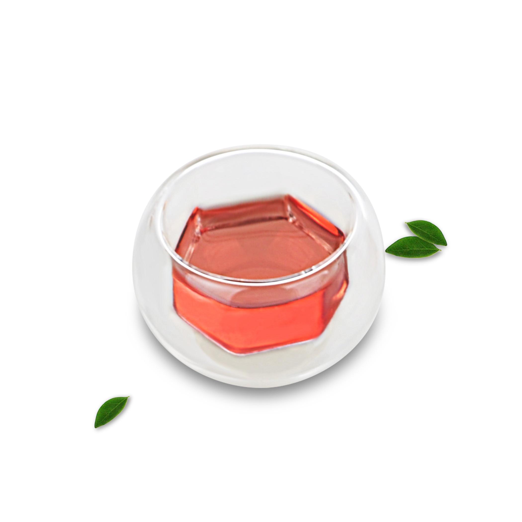 1 x 70ml Heat Resistant Japanese-style Crystal Glass Mugs Mini Gongfu Tea Cups
