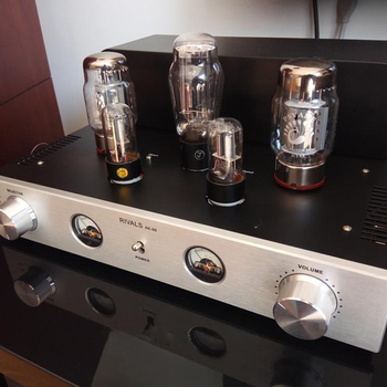 Himing Rivals AK-88 KT88 Vacuum Tube Amplifier HIFI EXQUIS  Class A Single-Ended Amplifier Bluetooth Amplifier 2.0 Channels
