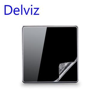 Image 5 - Delviz สวิทช์คริสตัลแก้วคริสตัล 1 GANG 1Way/2WAY สวิตช์ปิดภาคเรียน,16A EU/UK มาตรฐานสวิทช์ไฟ,ขนาดใหญ่แผง LUXURY Wall KEY SWITCH