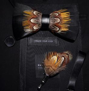 Image 5 - Ricnais lot de broches à nœud papillon
