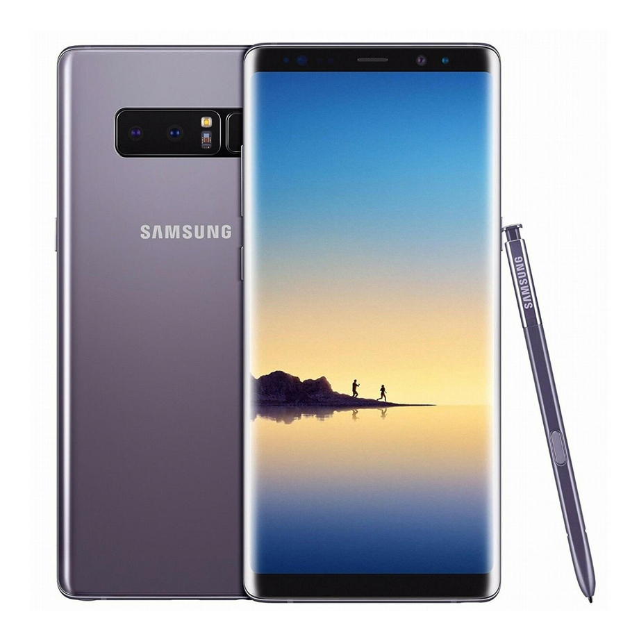 Samsung Galaxy Note8 Note 8 N9500 128GB Dual SIM Unlocked 4G LTE Android Phone Snapdragon 835 Octa Core 6.3