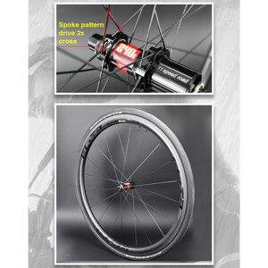Image 5 - Elite KING DT السويسري 240S الكربون دراجة عجلة 30 35 38 45 47 50 55 60 88 مللي متر 700c الطريق دراجة العجلات أنبوبي الفاصلة لايحتاج جاهزة