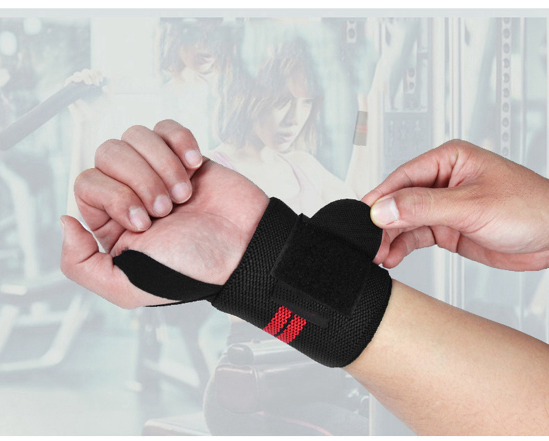 Weight Lifting Strap Fitness Gym Sport Wrist Wrap Bandage Hand Support Wristband (10)