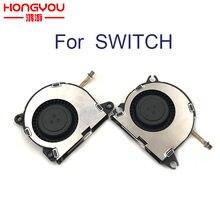 Peças de reparo originais ventilador de refrigeração de radiação para nintend switch ns console embutido ventilador de refrigeração