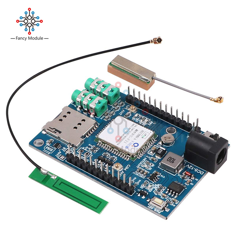 diymore Wireless Module <font><b>A7</b></font> GSM GPRS <font><b>GPS</b></font> 3 In 1 Module Shield Support Voice Short Message Universal for Arduino STM32 51MCU image