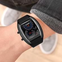 LED Speedometer Digital Matrix Watch Fashion Week Date Dashboard Pattern Dial Men Watch Electronic Sport Watch Rubber Band Clock original fashion weide watch mens sport watch men digital quartz led week day date watch silicone band wristwatches clock gift