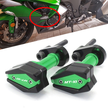 Motorcycle CNC Falling Protection Frame Slider Fairing Guard Anti Crash Pad Protector For Yamaha MT-10