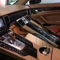 Para porsche panamera 2010-2016 interior painel de controle central maçaneta da porta de fibra de carbono adesivos decalques estilo do carro accessorie