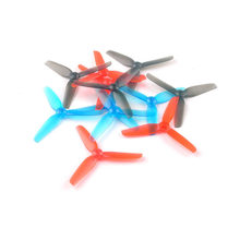 6/12Pairs Happymodel 65mm 2.5 Inch 3-Blade Propeller 1.5mm Shaft for Toothpick Larva X HD FPV Racing Drone 1102 1103 Motor(China)
