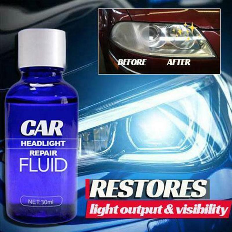 10ML Car Headlight Polishing RepairingCleaning Fluid Repair Refurbishment Fluid Detergent Repair Tool High Quality Paint Care