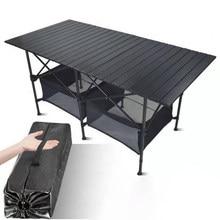 Chaise de Table pliante en alliage d'aluminium, pour pique-nique ou barbecue, imperméable, Durable