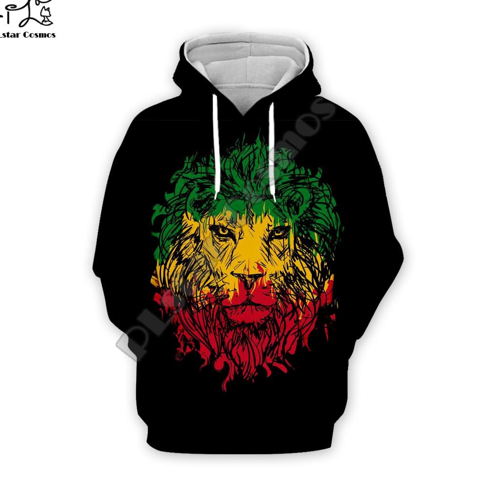 PLstar Cosmos Reggae Singer HipHop Legend Bob Marley Funny NewFashion Streetwear 3DPrint Zipper/Hoodies/Sweatshirts/Jacket A-5