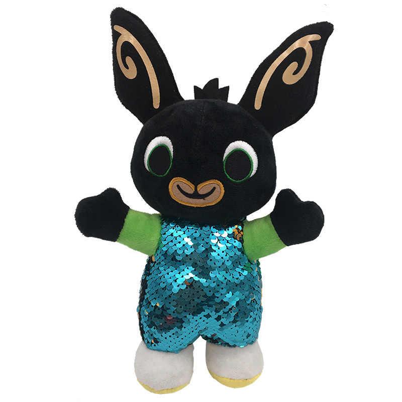 30 سنتيمتر الكرتون الترتر Bing الأرنب الأرنب ألعاب من نسيج مخملي ، Fnaf Bing الأصدقاء بالتخبط سولا الدب محشوة الحيوان أفخم دمية للفتيات