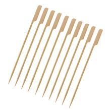 Paddle-Picks Skewers Barbecue-Forks Bamboo-Roasting-Sticks Meat Disposable 20cm Corn-Bbq