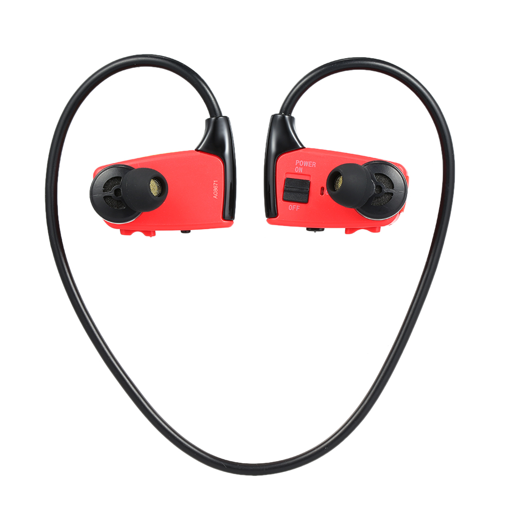 W262 8GB Sports MP3 Player Headphones 2in1 Music Headset MP3 WMA Digital Music Player Running Earphone
