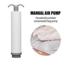 1PC Manual Air Pump PP Vacuum Bag Getter Air Pump for Storage Clothes Shoes Quilts Dolls Various Supplies Dedicated Household
