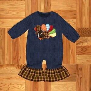 Image 1 - 幼児服女の赤ちゃん服トルコパターンベビーロンパースパジャマ & ローブ上着 & コート家族