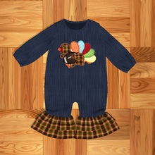 Toddler Clothes Baby Girl clothes Baby  clothes Muslim Turkey Pattern Baby  Romper  Sleepwear & Robe Outerwear & Coats Family