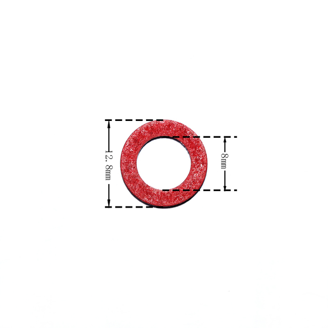 Red seal gasket Lower casing for Hidea boat engine 1
