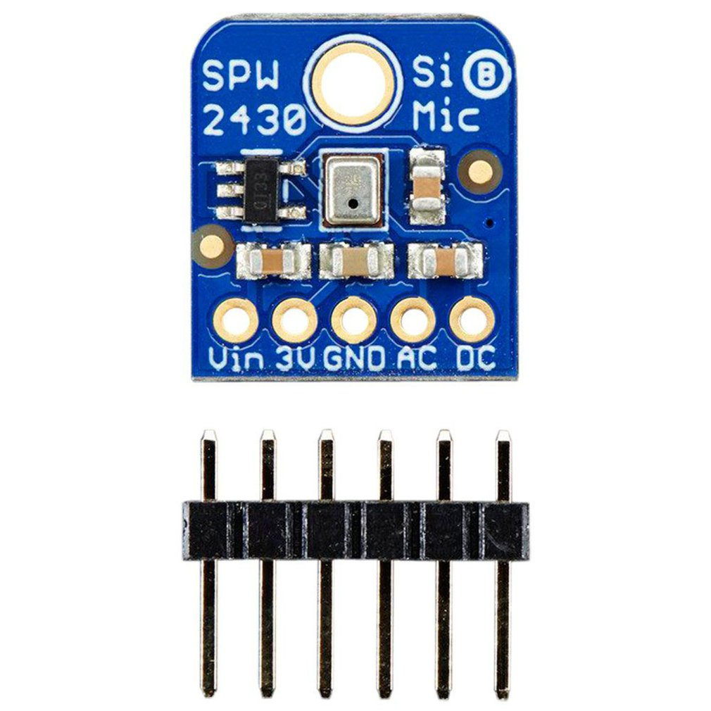 Silicon MEMS Microphone SPW2430 Breakout Sound Detection Sensor Module Q42 Audio IC Development Tools