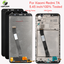 купить Display For Xiaomi Redmi 7A LCD Display Touch Screen With Frame Digitizer Panel Replacement For Redmi 7A 7 A Display Tested 5.45 по цене 1291.55 рублей